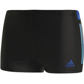 adidas Fitness Colourblock 3 Stripes Costume a pantaloncino Uomo blu/nero